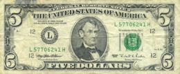 Ref. 531-927 - BIN UNITED STATES . 1995. 5 DOLLARS US ESTADOS UNIDOS 1995 - Unclassified