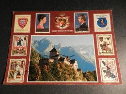 19942) LIECHTENSTEIN SCHLOSS VADUZ FURST HANS ADAM II UND MARIE VIAGGIATA - Liechtenstein