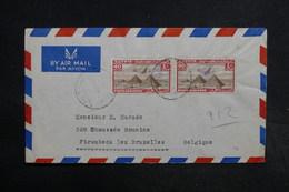 EGYPTE - Enveloppe De Alexandrie Pour La Belgique , Affranchissement Plaisant - L 32284 - Égypte
