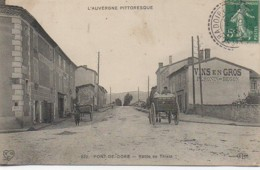 63 PONT-DE-DORE  Route De Thiers - Autres Communes