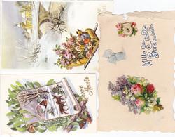 Meilleurs Voeux    170  Cartes Mignonettes - Anno Nuovo