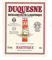 Etiquette   RHUM  Agricole - Distilleries Sainte Luce - MARTINIQUE - 55] - 100 Cl - Médailles Or Et Argent  - - Rhum
