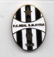F.C. Real Sm Hyria San Giorgio A Cremano Napoli Distintivi FootBall Soccer Pin Spilla Pins Italy Pisa - Calcio