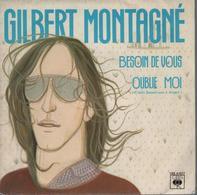 Disque 45 Tours GILBERT MONTAGNE - 1981 - Disco, Pop
