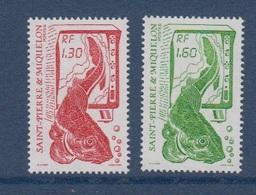 S.P.M.-1988-N°490/491** LA PECHE - St.Pierre Et Miquelon