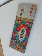 Ancienne Boite En Tôle Stabilo Pen 68 Décors Psychédélique - Pens
