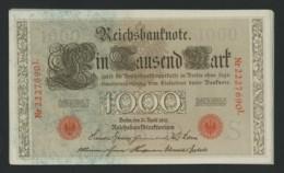 1000 Mark 1910 . 14 Billets UNC Avec Numéros Se Suivant . - [ 2] 1871-1918 : Empire Allemand