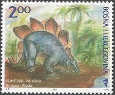 Bosnia And Herzegovina - Dinosaur - Stegosaurus, MINT, 2007 - Prehistorics