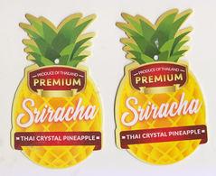 Fruit Label Pineapple Thailand - Fruit En Groenten