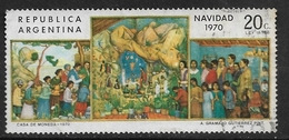ARGENTINA   1970 Christmas Ø - Used Stamps