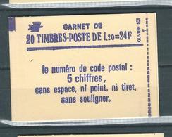 France Carnet 2101 C1 (ou C1a ?) Neuf Fermé Cote 17 € (ou 32 €) - Lot 1 - Usage Courant