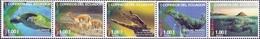 Ecuador - Fauna Of Ecuador, Set Of 5 Stamps, MNH, 2015 - Turtles