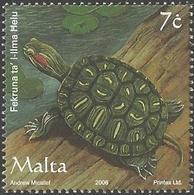 Malta - Domestic Pets - Red Eared Slider, MINT, 2006 - Turtles
