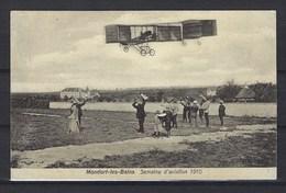 CPA - Mondorf Les Bains, Semaine D' Aviation 1910 - RARE - Carte Neuve - Mondorf-les-Bains