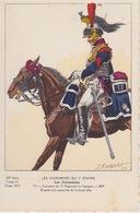 Uniformes Du 1er Empire  Cuirassier Du 13eme Régiment En Espagne 1809 ( Tirage 400 Ex ) - Uniformen