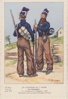 Uniformes Du 1er Empire Cuirassier Du 13eme Régiment  1812 ( Tirage 400 Ex ) - Uniformen