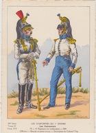 Uniformes Du 1er Empire Officiers Du 14 Eme Régiment 1810 ( Tirage 400 Ex ) - Uniformen