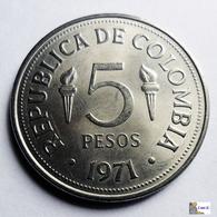 Colombia - 5 Pesos - 1971 - UNC - Colombia