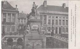 BRUXELLES / BRUSSEL / PLACE DES MARTYRS - Places, Squares