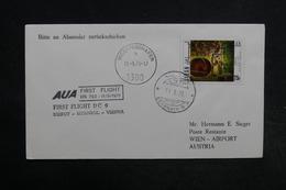 LIBAN - Enveloppe 1er Vol Beyrouth / Vienne En 1971 - L 32305 - Liban