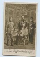 U5665/ Sultan Mehmed Türkei, Kaiser Wilhelm + Franz Josef 1. Welkrieg Foto AK  - Guerre 1914-18