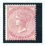 1865 - Five Cents Victoria Oblitéré Bel Exemplaire - FRANCO DE PORT - Columbia Británica & Isla De Vancouver