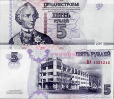 Transnistria 2007 (2012) - 5 Rublei - Pick 43b UNC - Andere