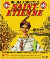 Étiquette De Rhum Saint Etienne - Rhum