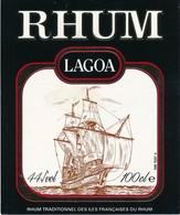 Étiquette De Rhum Lagoa - Rhum