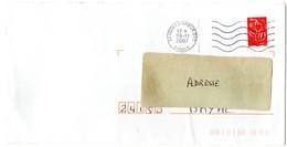 COTES D'ARMOR - Dépt N° 22 =  CTC 2007 = FLAMME Codée à DROITE = SECAP MUETTE ' 5 Lignes Ondulées ' - Marcophilie (Lettres)