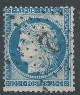 Lot N°49078  N°60, Oblit étoile Chiffrée 2 De PARIS ( R. St Lazare ) - 1871-1875 Cérès