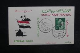 EGYPTE - Enveloppe FDC En 1958 - L 32307 - Lettres & Documents