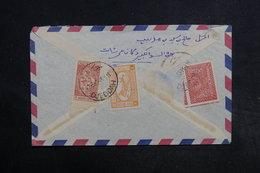 ARABIE SAOUDITE - Enveloppe De Djeddah Pour Aden En 1953 , Affranchissement Plaisant Au Verso - L 32308 - Arabie Saoudite