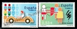 Spain - Espagne 2005 Yvert 3727-28, Civic Values - MNH - 1931-Aujourd'hui: II. République - ....Juan Carlos I