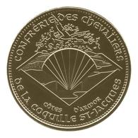 Monnaie De Paris , 2013 , Plerin , Confrérie Des Chevaliers De La Coquille St Jacques , Côtes D'Armor - Monnaie De Paris