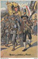 AK -Tirol - I. WK - Patriotika - VATER Und SÖHNE In TIROL 1914 - Otros