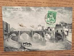 CPA, Les Remparts Du Vieux Bouillon, Le Pont De Liège, D'après Une Gravure De J.Dauby, éd Neils - Bouillon