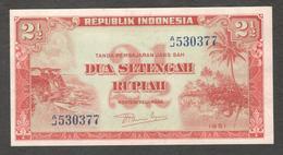 Indonesia 2.5 2 1/2 Rupiah 1951 UNC - Indonésie