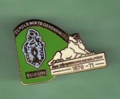 GENDARMERIE *** BELFORT *** 1018 - Militaria