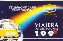 COSTA RICA - Mundo Y Arcoiris, ICE Tel Prepaid Card $20, Tirage 50000, 10/96, Used - Costa Rica