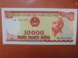 VIETNAM 10.000 DÔNG 1993 PEU CIRCULER/NEUF - Vietnam