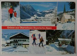 OBERWOSSEN, Bayerische Alpen - Luftkurort Und Wintersportplatz - Post, Erholungsheim - Vg G2 - Germania