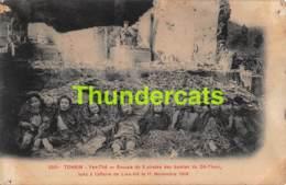 CPA VIETNAM VIET NAM TONKIN YEN THE  GROUPE DE 8 PIRATES DES BANDES DU DE THAM - Viêt-Nam