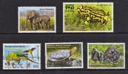 Australia 2016 Endangered Wildlife Five Used - Oblitérés