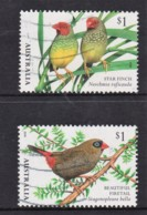 Australia 2018 Finches Two Used - Used Stamps