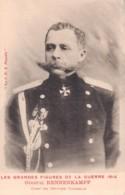 LES GRANDES FIGURES DE LA GUERRE 1914 GENERAL RENNENKAMPF CHEF DES ARMEES COSAQUE PAS CIRCULEE - Guerra 1914-18