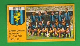 Calcio PANINI Figurina Squadra Inter VALIDA Campionato 1969 1970 - Edizione Italiana