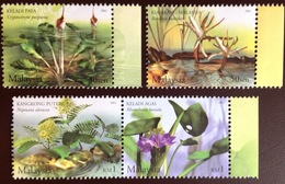 Malaysia 2002 Aquatic Plants MNH - Végétaux