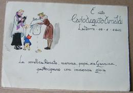 MONDOSORPRESA, PARTECIPAZIONE BATTESIMO ANNO 1942 - Nacimiento & Bautizo