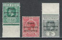 Togo SG H47-49, Mi 34-36 * MH - Grande-Bretagne (ex-colonies & Protectorats)